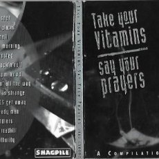 CDs de Música: VARIOS ARTISTAS: TAKE YOUR VITAMINS, SAY YOUR PRAYERS. MAGNÍFICO PUNK INDEPENDIENTE AUSTRALIANO . Lote 186175580