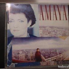 CDs de Musique: AMAYA SOBRE EL LATIDO DE LA CIUDAD AMAYA URANGA CD ALBUM 1988 MOCEDADES. Lote 186181025