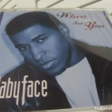 CDs de Música: BABYFACE ‎– WHEN CAN I SEE YOU 6 TEMAS. Lote 186189910
