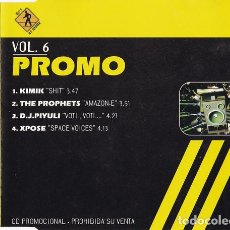 CDs de Música: PROMO DJ'S AT WORK VOL. 6 . Lote 186191107