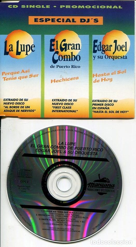 MANZANA ESPECIAL DJ'S (3 TEMAS) CDMAXI 1993 (Música - CD's Latina)