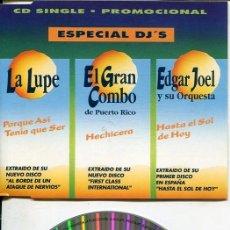 CDs de Música: MANZANA ESPECIAL DJ'S (3 TEMAS) CDMAXI 1993. Lote 186207000