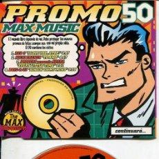 CDs de Música: MAX MUSIC ( PROMO 50 - 4 TEMAS) CDMAXI MAX PROMO 1997. Lote 186209203