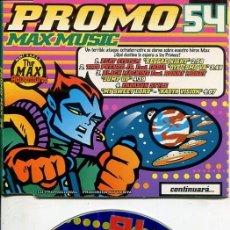 CDs de Música: MAX MUSIC ( PROMO 54 - 4 TEMAS) CDMAXI MAX PROMO 1997. Lote 186209610
