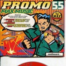 CDs de Música: MAX MUSIC ( PROMO 55 - 4 TEMAS) CDMAXI MAX PROMO 1997. Lote 186209751