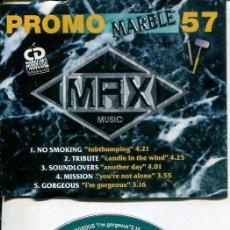 CDs de Música: MAX MUSIC ( PROMO 57 - 5 TEMAS) CDMAXI MAX PROMO 1997. Lote 186209863