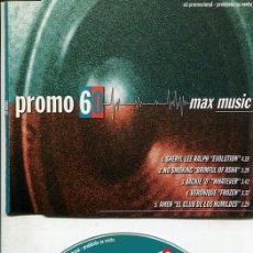 CDs de Música: MAX MUSIC ( PROMO 60 - 5 TEMAS) CDMAXI MAX PROMO 1998. Lote 186210227