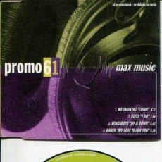 CDs de Música: MAX MUSIC ( PROMO 61 - 4 TEMAS) CDMAXI MAX PROMO 1998. Lote 186210365