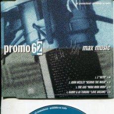 CDs de Música: MAX MUSIC ( PROMO 62 - 4 TEMAS) CDMAXI MAX PROMO 1998. Lote 186210495