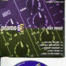 CDs de Música: MAX MUSIC ( PROMO 63 - 5 TEMAS) CDMAXI MAX PROMO 1998. Lote 186210613