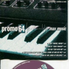 CDs de Música: MAX MUSIC ( PROMO 64 - 5 TEMAS) CDMAXI MAX PROMO 1998. Lote 186210708