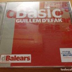 CDs de Música: DBÀSIC (GUILLEM D'EFAK) CD. Lote 186212718