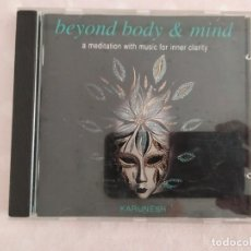 CDs de Música: KARUNESH ‎– BEYOND BODY & MIND. Lote 186216900