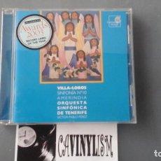 CDs de Música: HEITOR VILLA-LOBOS, ORQUESTA SINFÓNICA DE TENERIFE, VÍCTOR PABLO PÉREZ ?– SINFONÍA N° 10 AMERINDIA. Lote 219327742