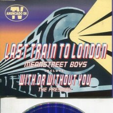 CDs de Música: MEANSTREET BOYS / LAST TRAIN TO LONDON (4 TEMAS) CDMAXI 1996. Lote 186234158