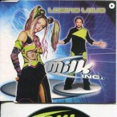 CDs de Música: MILK INC. / LOSING LOVE (3 VERSIONES) CDMAXI VALE 1999. Lote 186234938