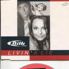 CDs de Música: MILK INC. / LIVIN´A LIE (4 VERSIONES) CDMAXI VALE 2001. Lote 186235047