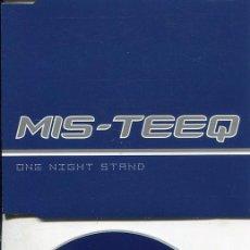 CDs de Música: MIS - TEEQ / ONE NIGHT STAND (STARGATE RADIO EDIT 3.27) CDMAXI TELSTAR 2001. Lote 186235240