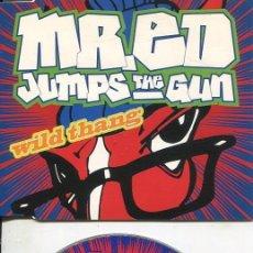 CDs de Música: MR.ED JUMPS THE GUN / WILD THANG (4 VERSIONES) CDMAXI 1994. Lote 186235603
