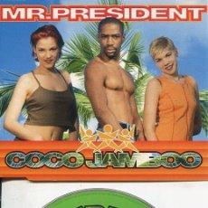 CDs de Música: MR.PRESIDENT / COCO JAMBOO (8 VERSIONES) CDMAXI WEA 1996. Lote 186235971