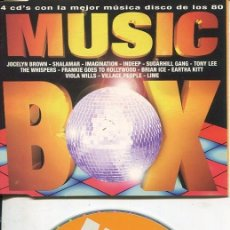 CDs de Música: MUSIC BOX (RADIO EDIT 4.21) CDMAXI VALE PROMO 1998. Lote 186236067