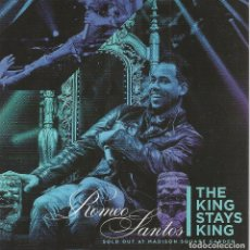 CDs de Música: CD+DVD ROMEO SANTOS-THE KING STAYS KING(SOLD OUT AT MADISON SQUARE GARDEN). Lote 186241593
