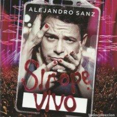 CDs de Música: CD+DVD ALEJANDRO SANZ-SIROPE VIVO.2015.. Lote 186247878
