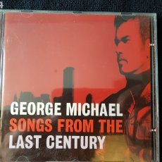 CDs de Música: GEORGE MICHAEL..SONGS FROM THE LAST CENTURY..1999. Lote 186248072