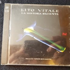 CDs de Música: LITO VITALE..LA HISTORIA RECIENTE..2 × CD..1993. Lote 186250197