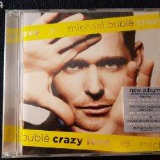 CDs de Música: MICHAEL BUBLE..CRAZY LOVE..2009. Lote 186251481