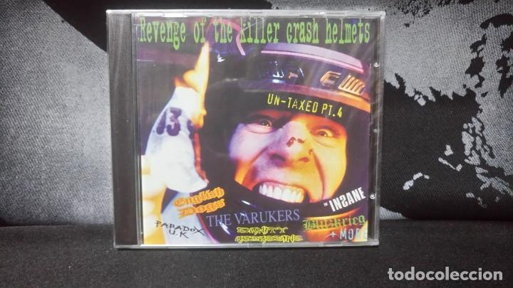 REVENGE OF THE KILLER CRASH HELMETS (ENGLISH DOGS,BLITZKRIEG,INSANE,PARADOX UK,ETC..)DIFICIL (Música - CD's Rock)