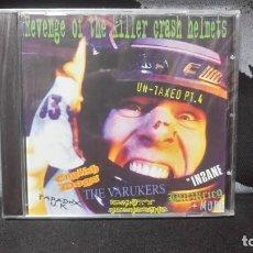 CDs de Música: REVENGE OF THE KILLER CRASH HELMETS (ENGLISH DOGS,BLITZKRIEG,INSANE,PARADOX UK,ETC..)DIFICIL. Lote 186256675