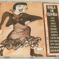 CDs de Música: BAILA MI RUMBA / VARIOS ARTISTAS / CD - HORUS-1994 / 12 TEMAS / CALIDAD LUJO.. Lote 186258866