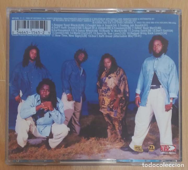 CDs de Música: MORGAN HERITAGE (DON'T HAFFI DREAD) CD 1999 - Foto 2 - 186261111