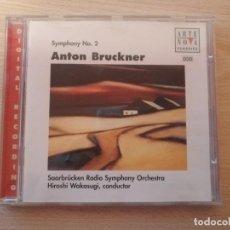 CDs de Música: CD ARTE NOVA CLASSICS ANTON BRUCKMER SYMPHONY Nº 2. Lote 186262302