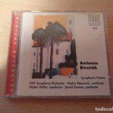 CDs de Música: CD ARTE NOVA CLASSICS ANTONIN DVORAK SYMPHONNIC POEMS. Lote 186262620