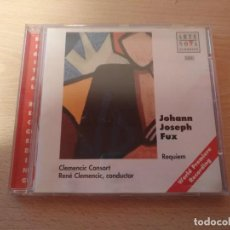 CDs de Música: CD ARTE NOVA CLASSICS JOHANN JOSEPH FUX - REQUIEM. Lote 186263096