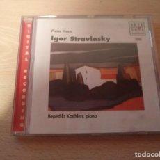 CDs de Música: CD ARTE NOVA CLASSICS IGOR STRAVINSKY - PIANO MUSIC . Lote 186264377