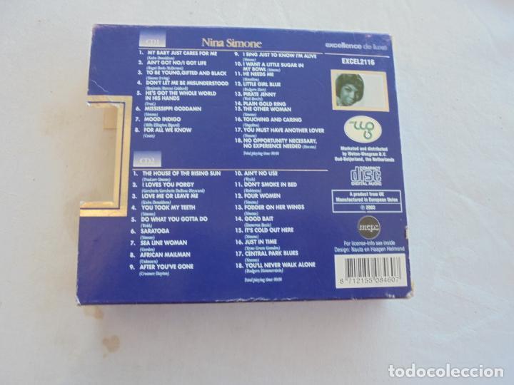 CDs de Música: NINA SIMONE , 36 GREAT PERFORMANCES- 2CD -EXCELENCE DE LUXE - Foto 2 - 186271893