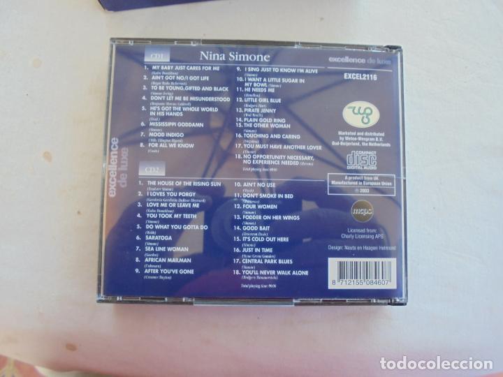 CDs de Música: NINA SIMONE , 36 GREAT PERFORMANCES- 2CD -EXCELENCE DE LUXE - Foto 3 - 186271893