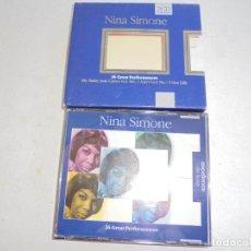 CDs de Música: NINA SIMONE , 36 GREAT PERFORMANCES- 2CD -EXCELENCE DE LUXE . Lote 186271893