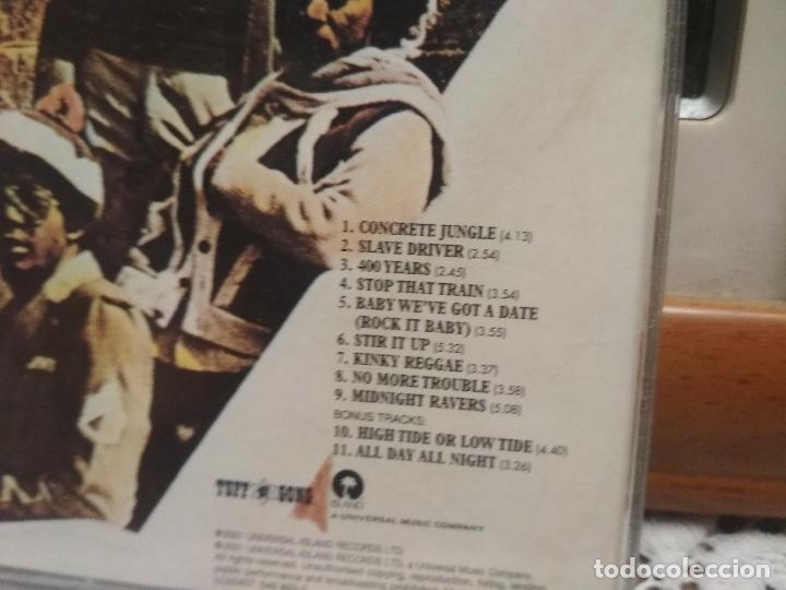 CDs de Música: Bob Marley & The Wailers. Catch a Fire. CD álbum con 11 temas. Reggae Tuff Gong 2001 - Foto 2 - 186271947