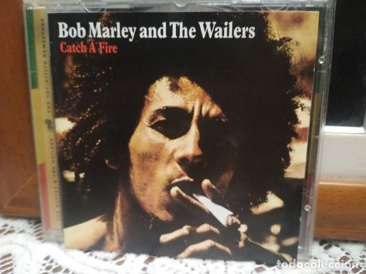 BOB MARLEY & THE WAILERS. CATCH A FIRE. CD ÁLBUM CON 11 TEMAS. REGGAE TUFF GONG 2001 (Música - CD's Reggae)