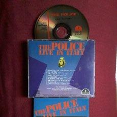 CDs de Música: THE POLICE:CD LIVE IN ITALY; MILANO 1980. SOUNDBOARD RECORDING.. Lote 186279458