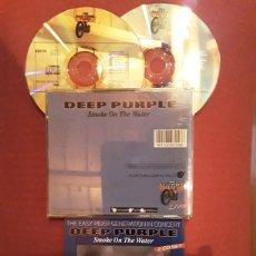 CDs de Música: DEEP PURPLE: SMOKE ON THE WATER. 2CD'S LIVE RECORDINGS 1970--1972. MUY RARO.. Lote 186279782