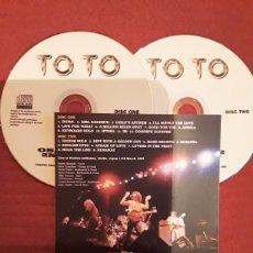 CDs de Música: TOTO: OSAKA 1982; 2ND NIGHT, JAPAN TOUR 1982, 2CD'S. MUY RARO.. Lote 186279835