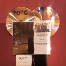CDs de Música: TOTO: FOREVER AND EVER. 2CD'S, LIVE AT BUDOKAN HALL, TOKYO, JAPAN 26 FEBRUARY 1985. MUY RARO.. Lote 186279871