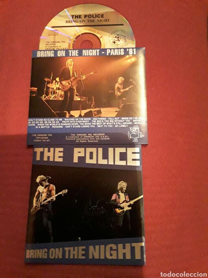 THE POLICE:CD LIVE,BRING ON THE NIGHT; LIVE IN PARÍS 81. SOUNDBOARD RECORDING. (Música - CD's Rock)