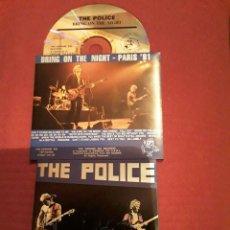 CDs de Música: THE POLICE:CD LIVE,BRING ON THE NIGHT; LIVE IN PARÍS 81. SOUNDBOARD RECORDING.. Lote 186279435