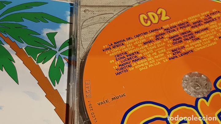 CDs de Música: CARIBE 2003 / HASIENDO EL AMOR / DOBLE CD + DVD / VARIOS ARTISTAS / TOTAL 58 TEMAS / DE LUJO. - Foto 3 - 186294945